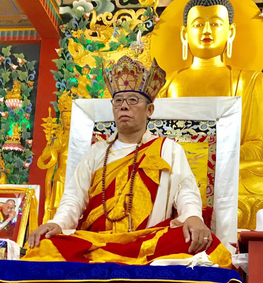 Sang-ngag Rinpoche at the Garden of One Thousand Buddhas